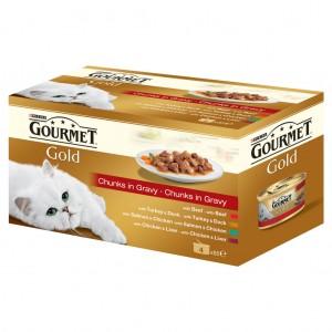Gourmet Sos Vita, Pui, Somon, Curcan, Rata 4*85 g