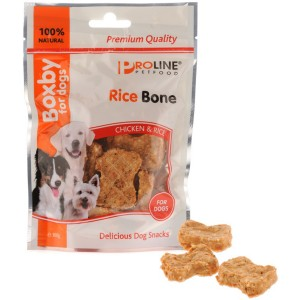 Proline Dog Boxby Rice Bone 100g