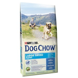 Dog Chow Puppy Large Breed Turkey 14 Kg