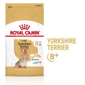 Royal Canin Yorkshire Adult 8+, hrană uscată câini, 1.5 kg