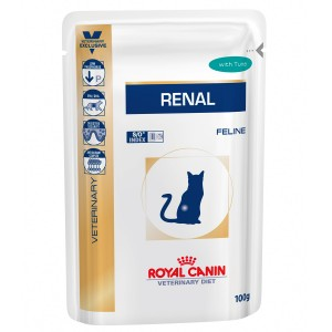 Royal Canin Renal Tuna Cat 12 plicuri x 85 g