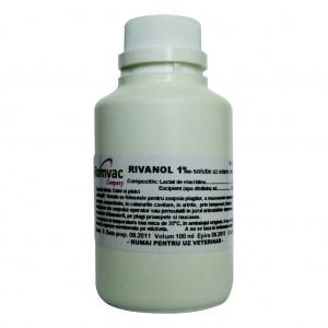 RIVANOL 1‰ Soluţie 100 ml