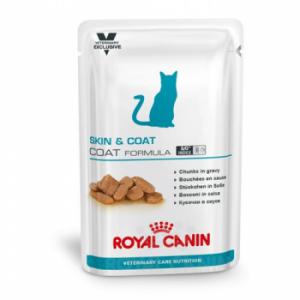 Royal Canin Skin & Coat Formula 12 Plicuri x 100 g