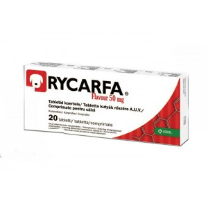 Rycarfa Flavour 50 mg 20 tablete