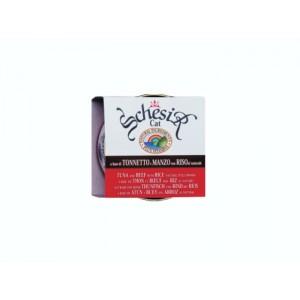 Schesir Conserva Ton, Vita si orez 3 x 85 g