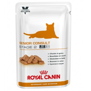 Royal Canin Senior Consult Stage II Cat 12 plicuri X 100 g