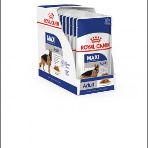 Royal Canin Maxi Adult, 10 plicuri X 140 g