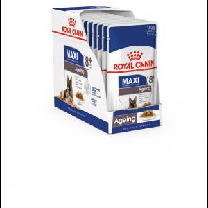 Royal Canin Maxi Ageing 8+, 10 plicuri X 140 g
