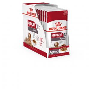 Royal Canin Medium Ageing 10+, 10 plicuri X 140 g
