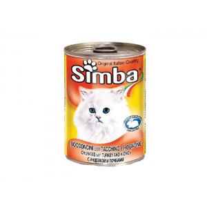 Simba Pisica Curcan Conserva 415 g