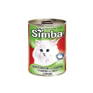 Simba Pisica Vitel Conserva 415 g