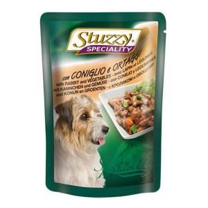 Stuzzy Speciality Dog Iepure si Legume 100 g