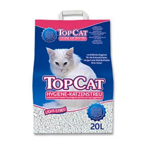 Top cat nisip igienic Light 20 L