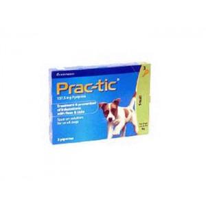 Prac-tic S (4,5-11 kg) 137,5 mg-  3 pipete