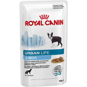 Royal Canin URBAN JUNIOR DOG 10 Plicuri x 150g
