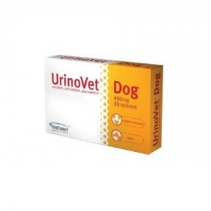 URINOVET DOG CAINE 400MG - 30 TABLETE