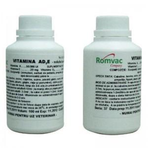 VITAMINA AD3E 100 ml