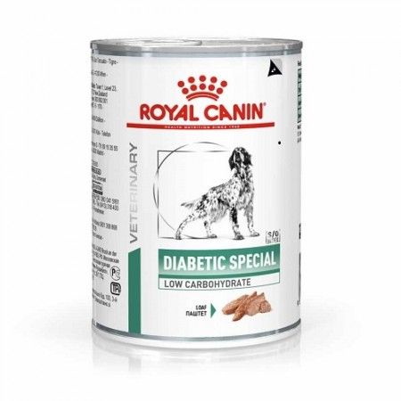 Royal Canin Diabetic Special Low Carbohydrate Dog, 410 g
