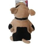 Jucarie plus bulldog, 21 cm