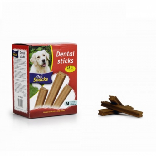 Suplimente alimentare, IPTS, DeliSnacks Dental Sticks, 28 buc/ set imagine