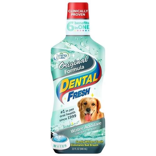 Dental Fresh Original Formula pentru Caini, Synergy Labs, 237 ml imagine