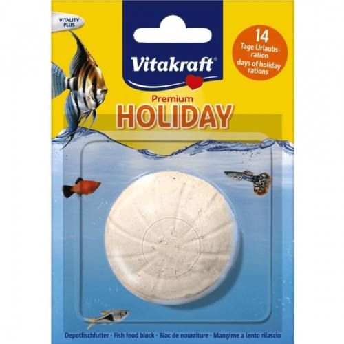 Depozit alimentar pentru pestii de iaz, Vitakraft Holiday Fish Food, 25 g imagine