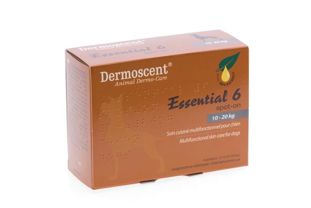 Dermoscent Essential 6 Spot-on Caine 10-20kg imagine