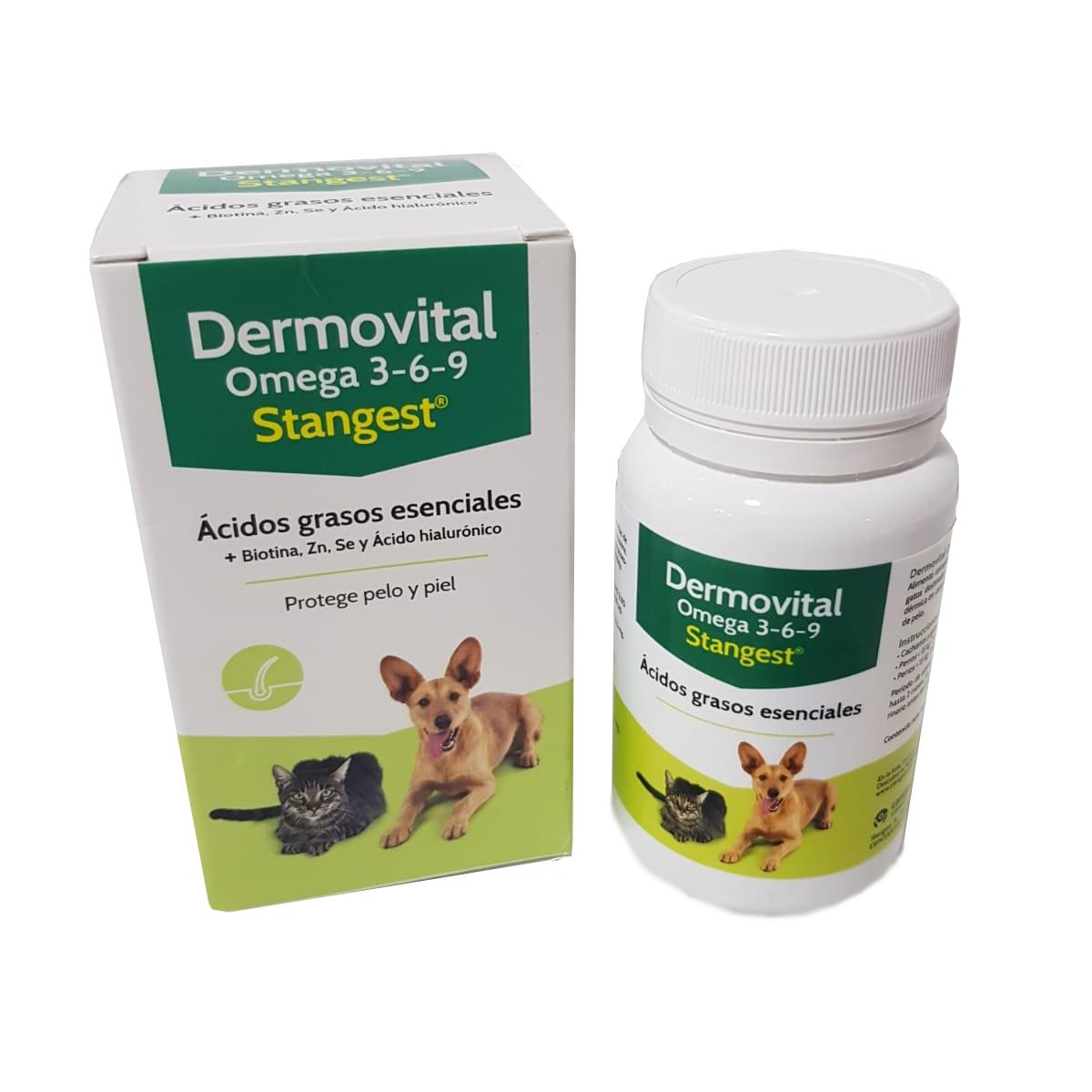 Dermovital OMEGA 3-6-9, 60 capsule imagine