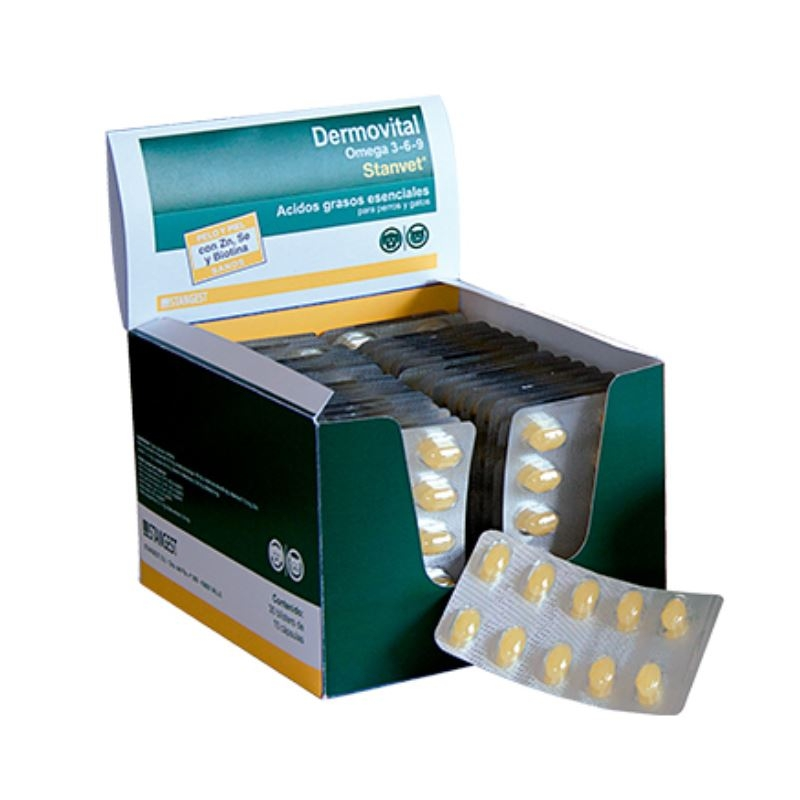 DERMOVITAL OMEGA 3-6-9, 10 tablete imagine