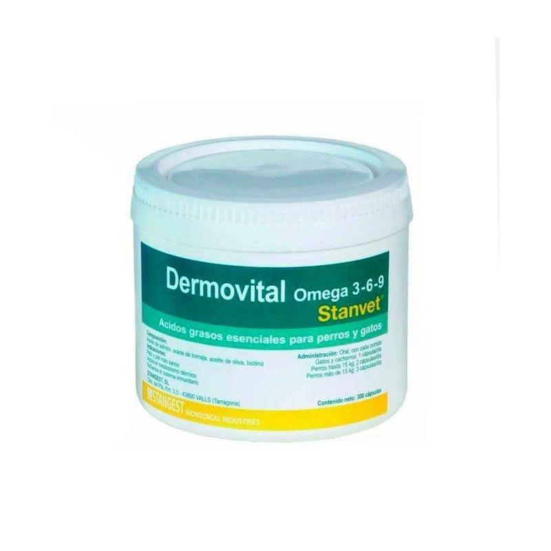 Dermovital OMEGA 3-6-9 flacon, 300 capsule imagine
