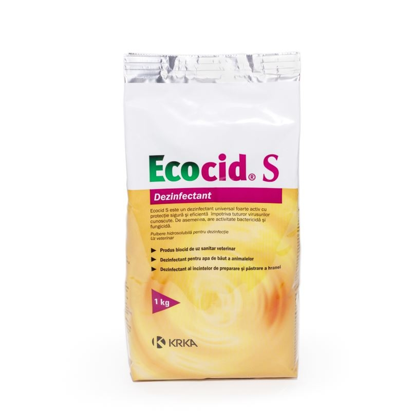 Dezinfectant Universal Ecocid S, 1 kg imagine