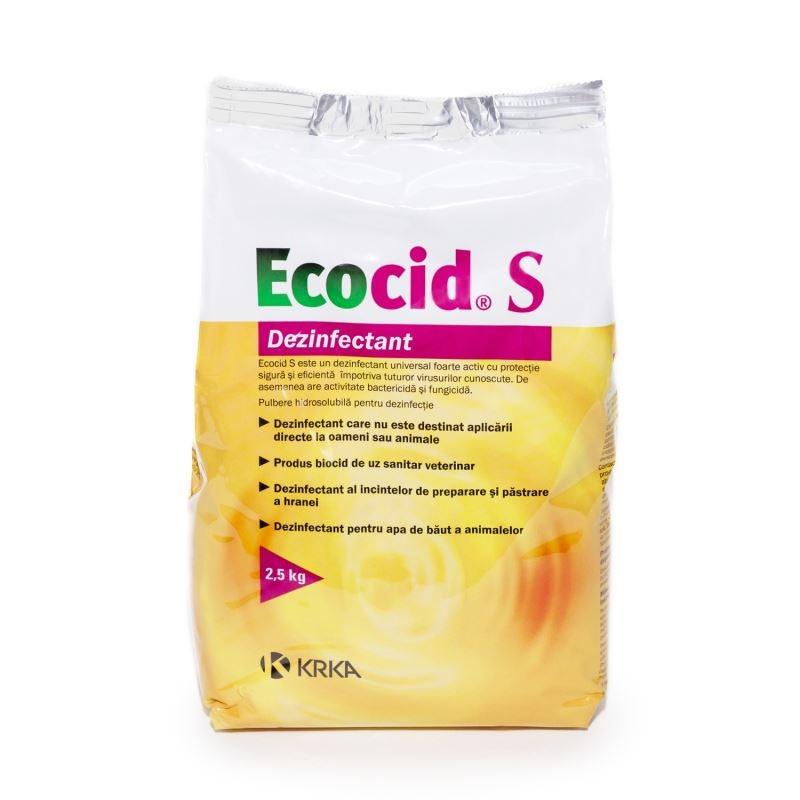 Dezinfectant Universal Ecocid S, 2.5 kg imagine