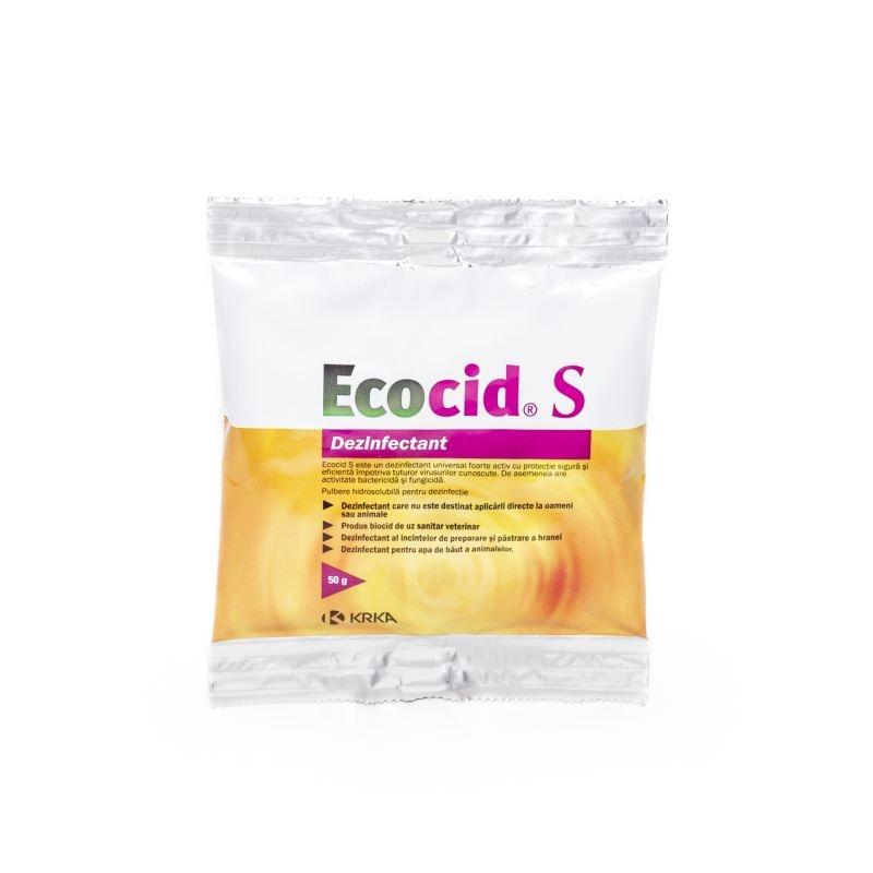 Dezinfectant Universal Ecocid S, 50 g imagine