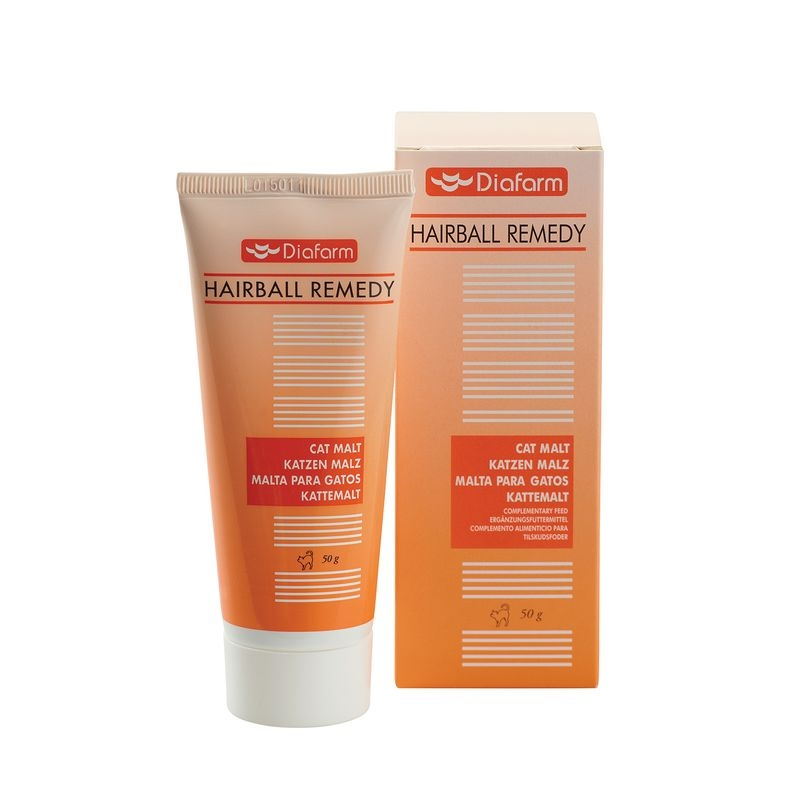 Diafarm Hairball Remedy, 50 g imagine