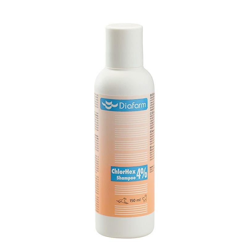 Diafarm Sampon Clorhexidina 4%, 150 Ml