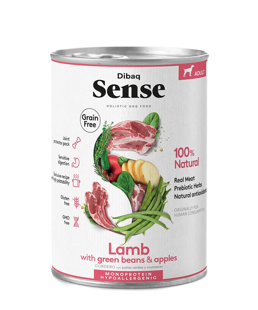 Dibaq Sense Lamb, Adult, 380g imagine