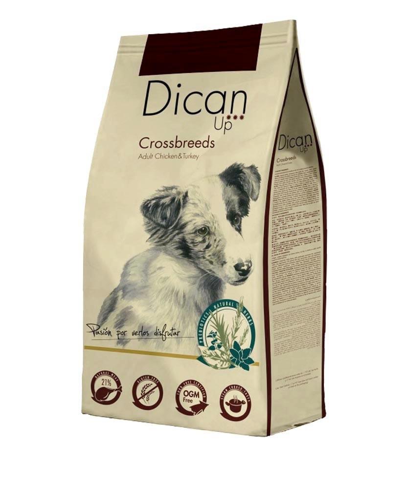 Dibaq Premium Dican Up Crossbreeds, Adult Chicken & Turkey, 14kg imagine