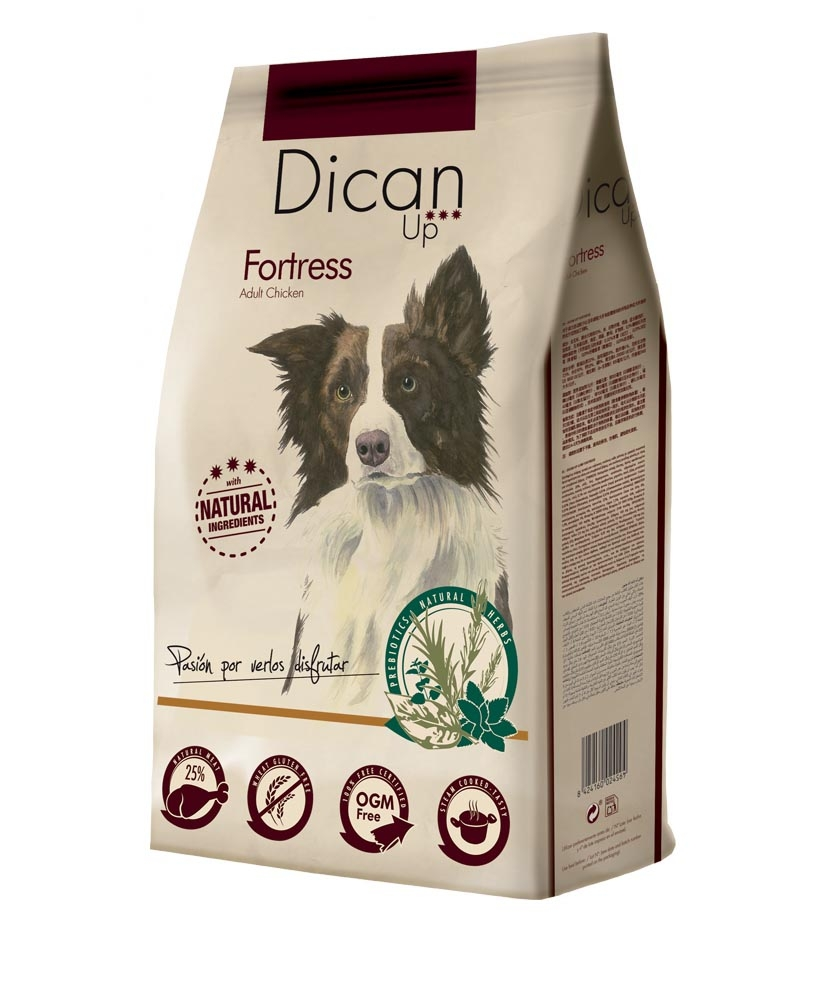 Dibaq Premium Dican Up Fortress, Adult Chicken, 14kg imagine