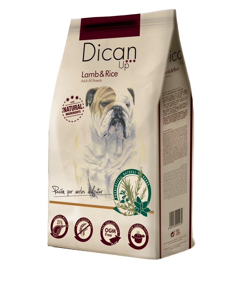 Dibaq Premium Dican Up Adult, Lamb & Rice, 3kg imagine