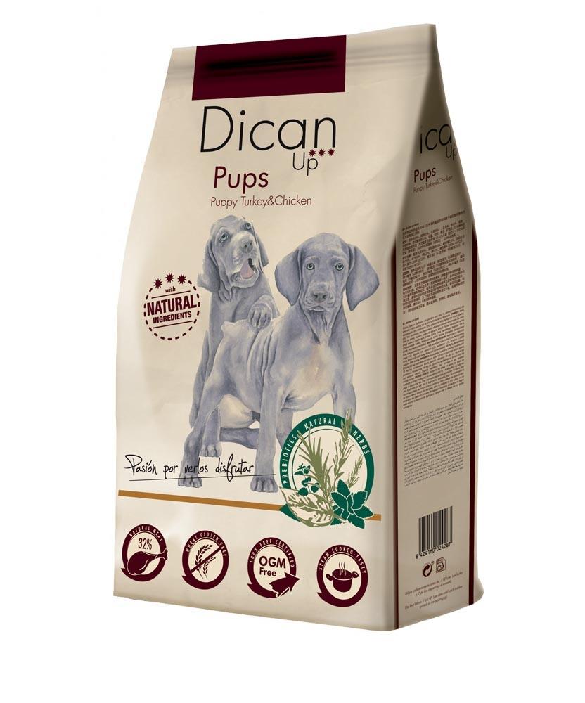 Dibaq Premium Dican Up Pups, Turkey & Chicken, 14kg imagine