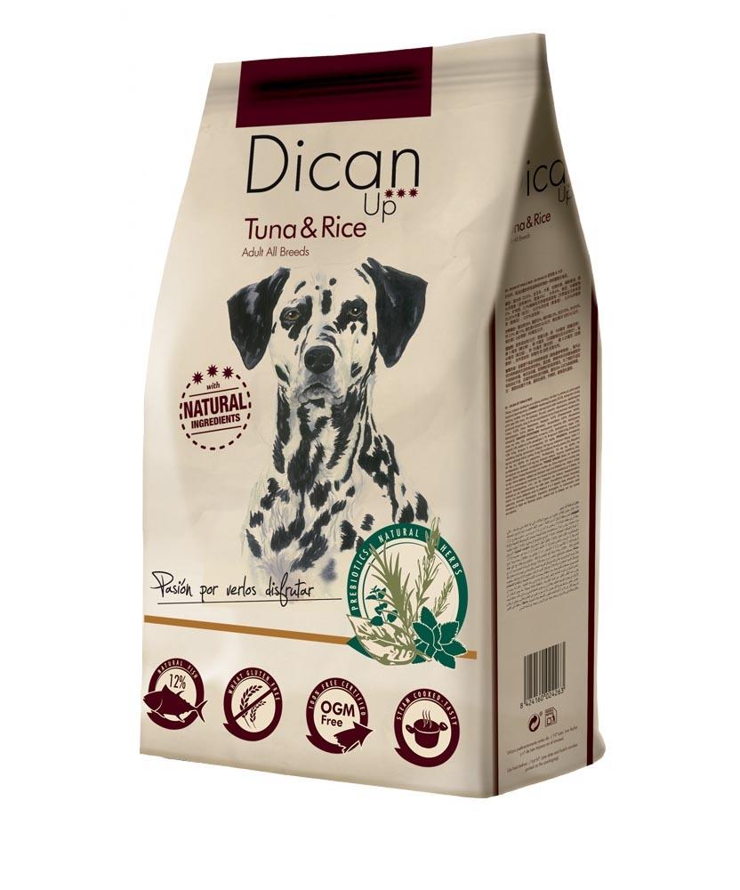 Dibaq Premium Dican Up Adult, Tuna & Rice, 14kg imagine