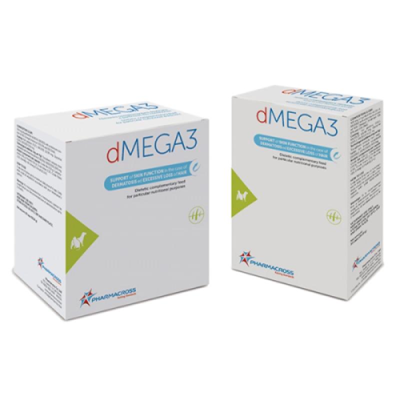 Supliment complementar pentru caini si pisici, dMEGA3, 80 cps imagine