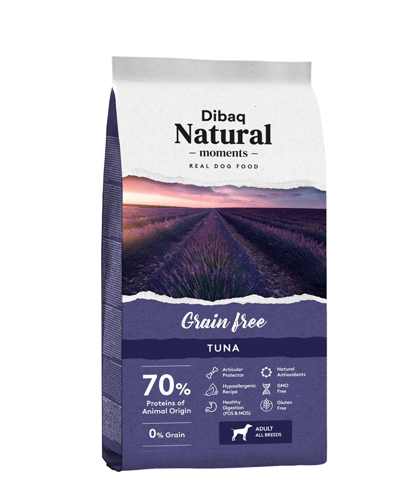 Dibaq DNM Grain Free Hypoallergenic, Tuna & Potato, 13kg imagine