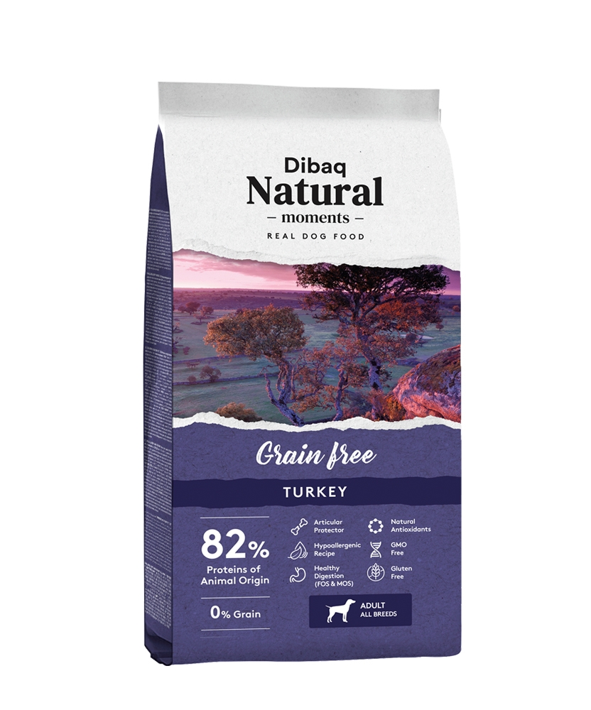 Dibaq DNM Grain Free Hypoallergenic, Turkey & Potato, 3kg imagine