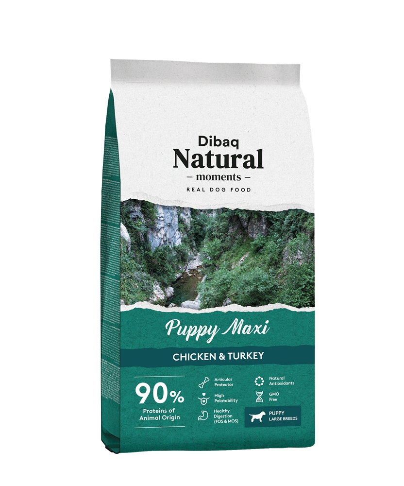 Dibaq DNM Puppy Maxi, Chicken & Turkey, 3kg imagine
