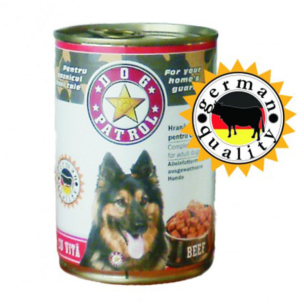 Conserva Dog Patrol Vita 415 g imagine