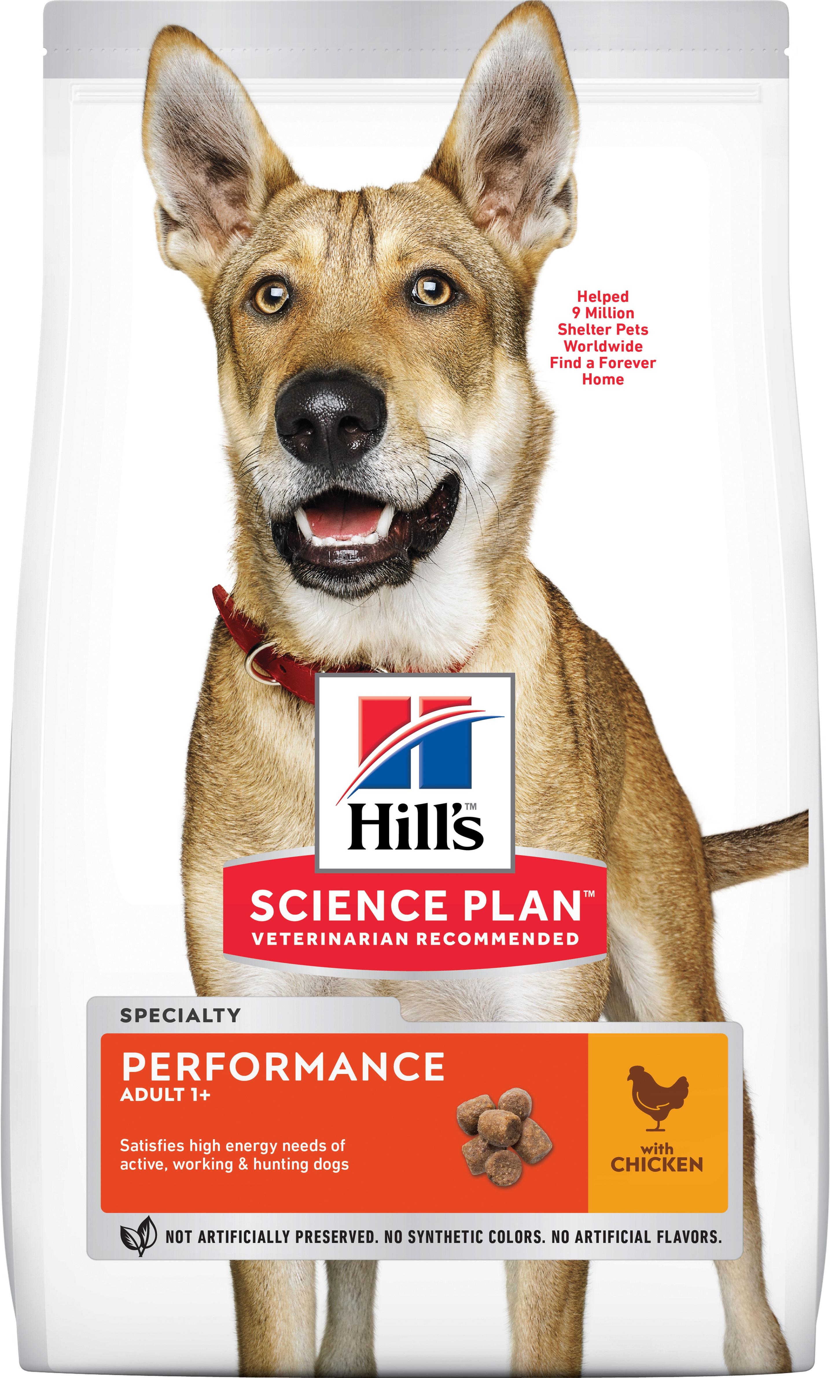 Hill's SP Adult Performance hrană pentru câini cu pui, 14 kg imagine