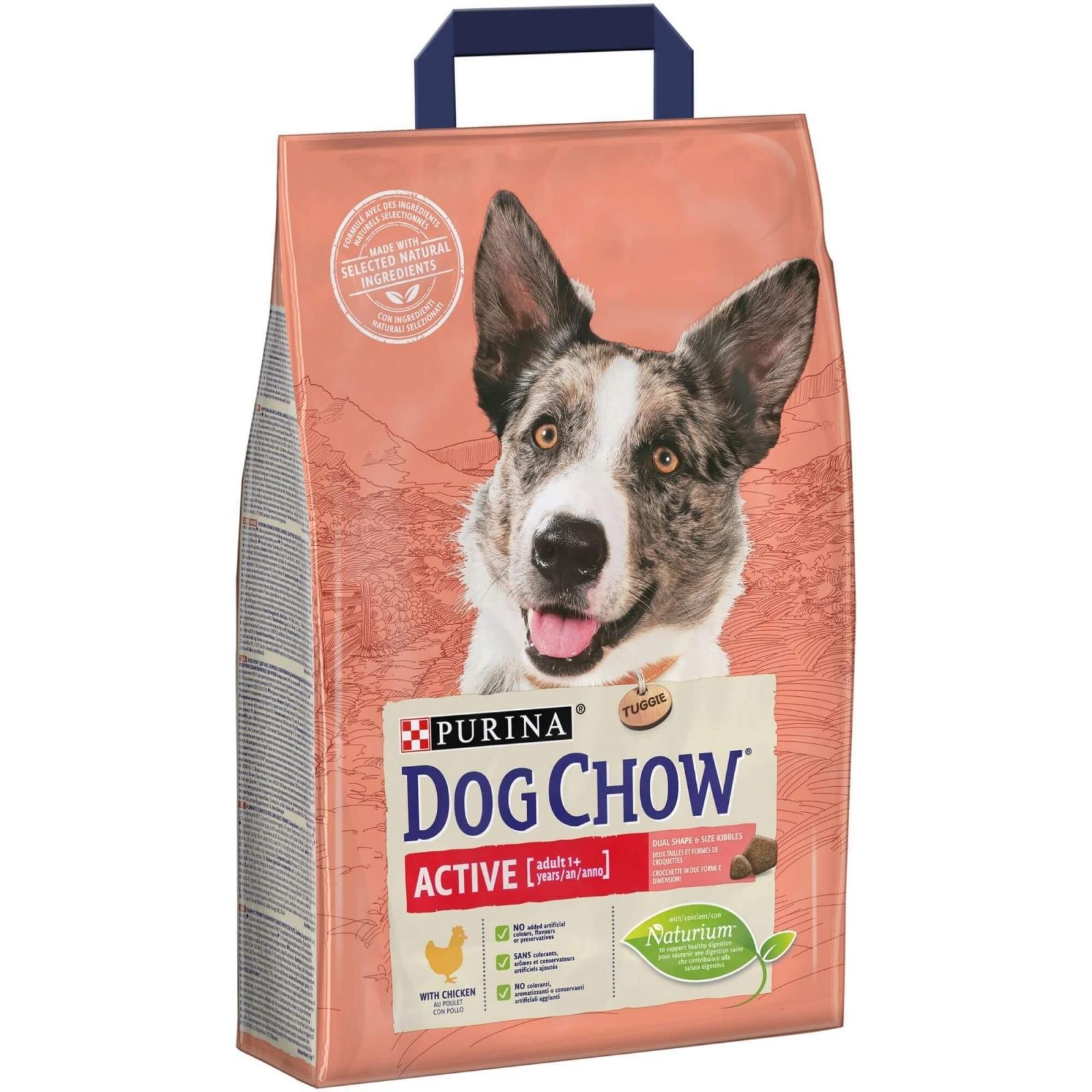 Dog Chow Active Chicken, 2.5 kg imagine