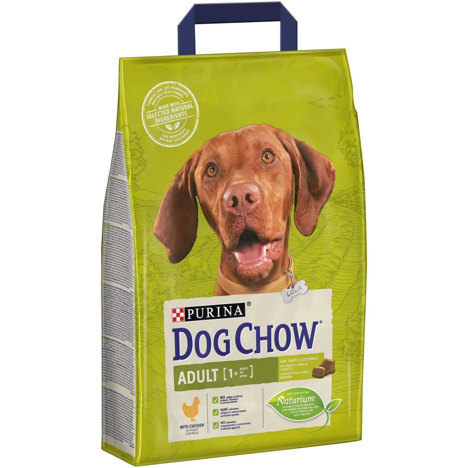 Dog Chow Adult Chicken, 2.5 kg imagine