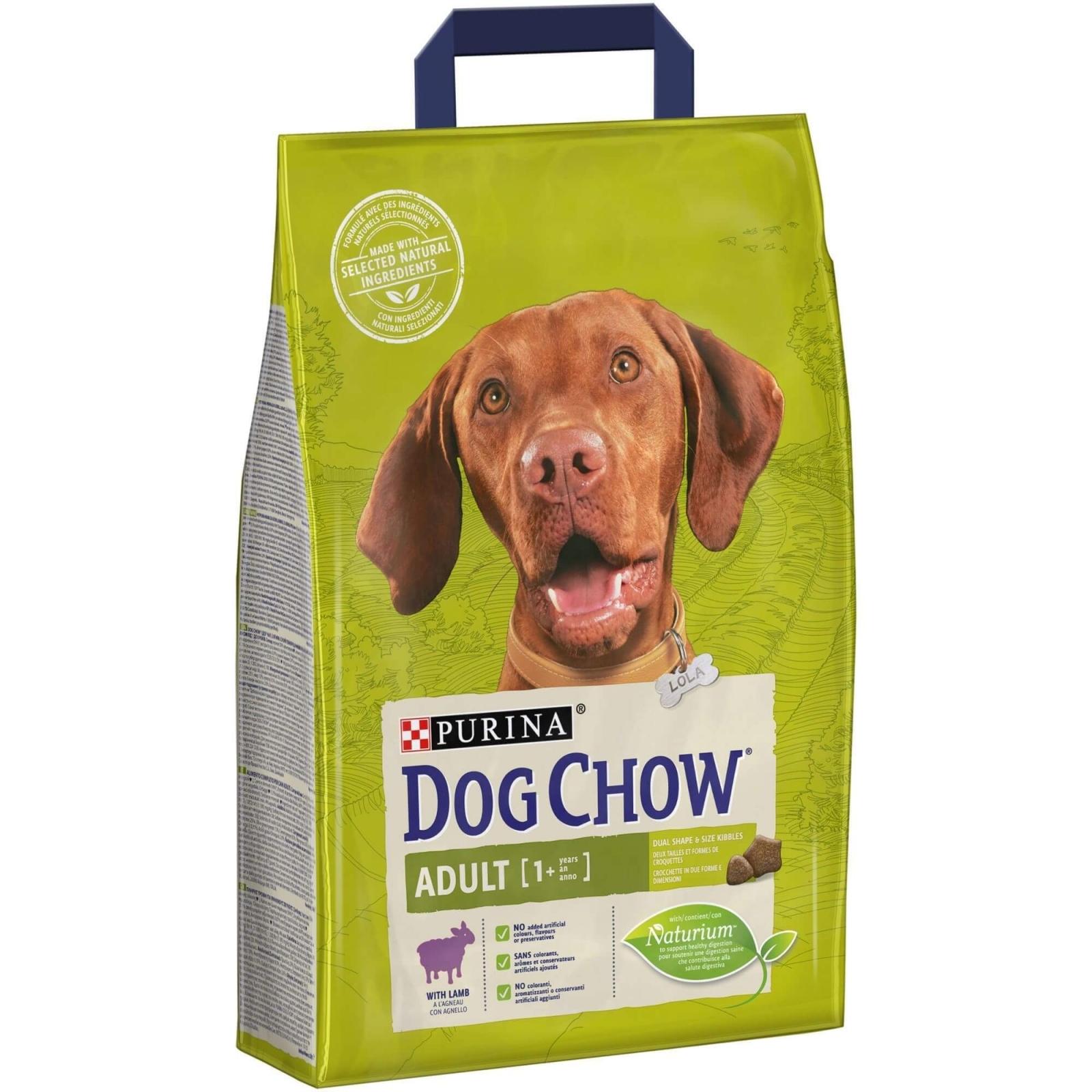 Dog Chow Adult Lamb, 2.5 kg imagine